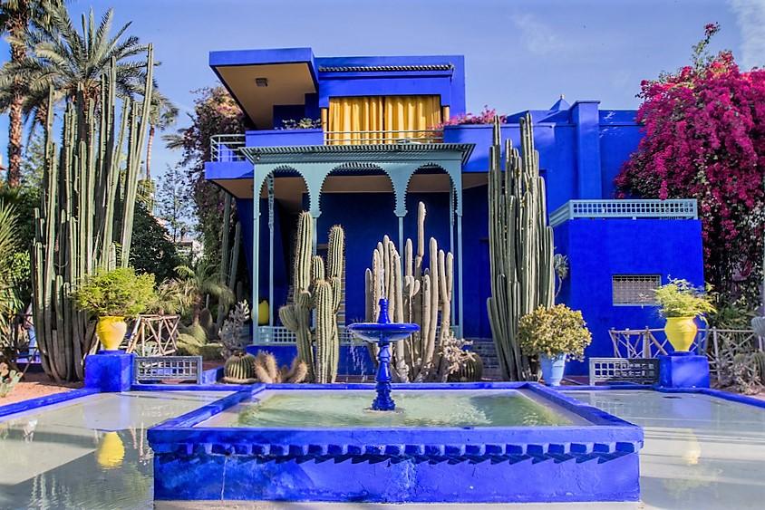 Botanischer Garten Marrakesch