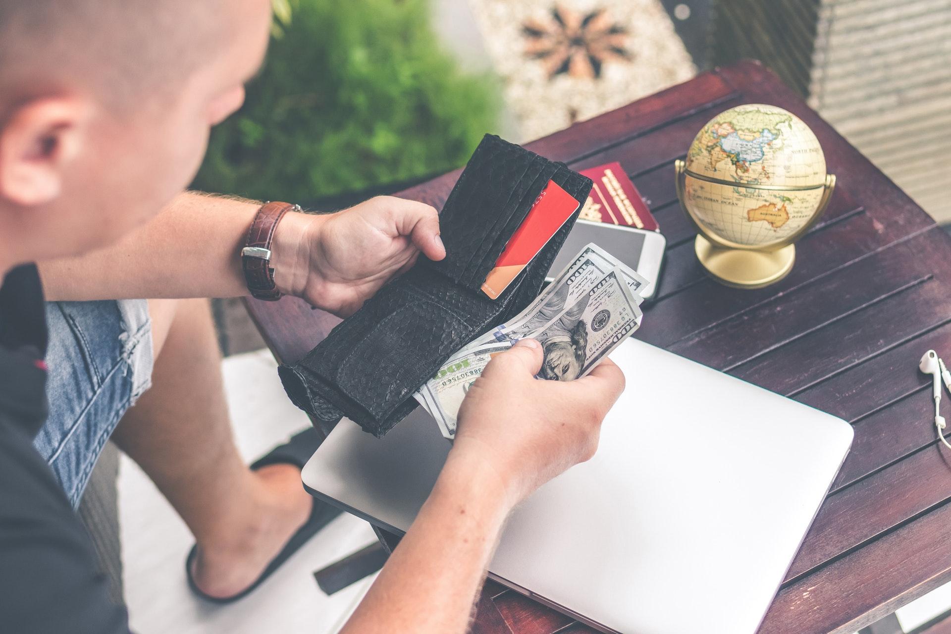 Reise-Budgetplan, Reisebudget, Reisekosten