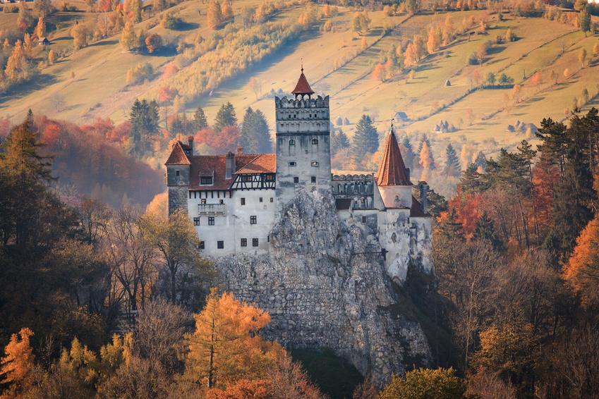 Rumänien, Vampire, Burg