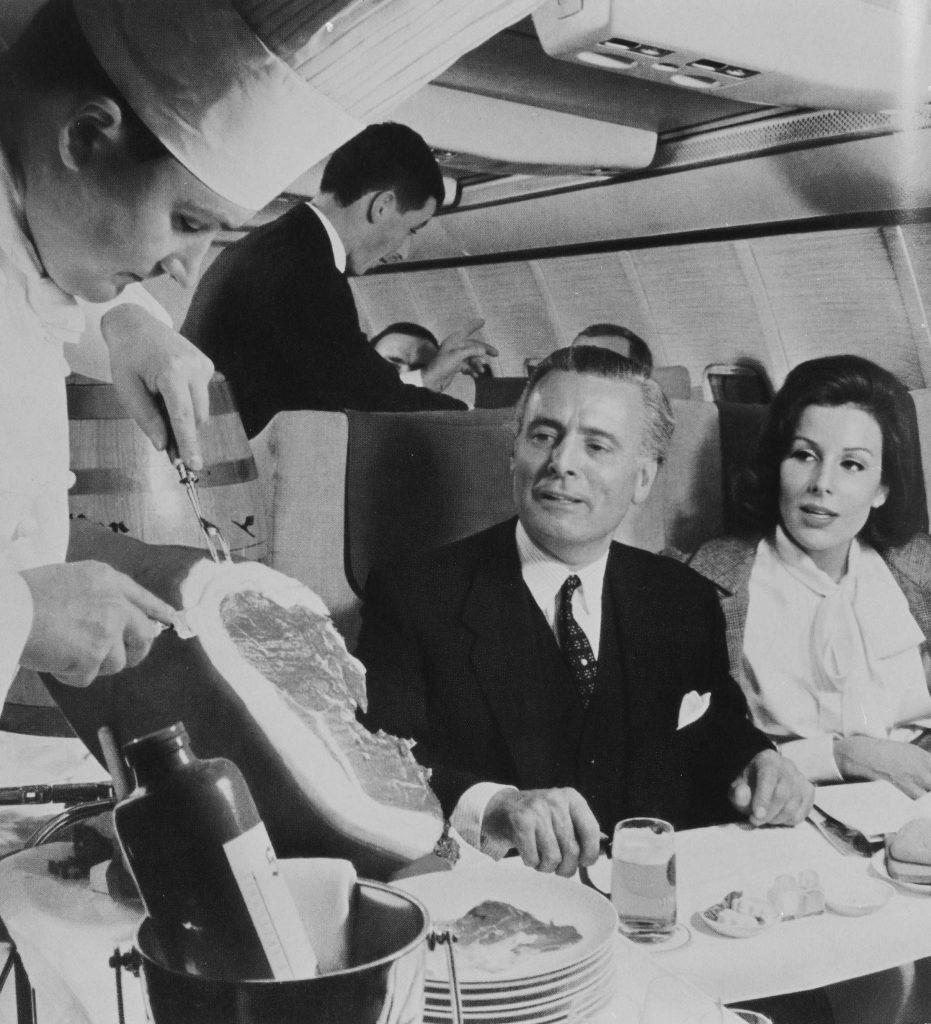 Senator First Class – Bordservice in der Boeing 707