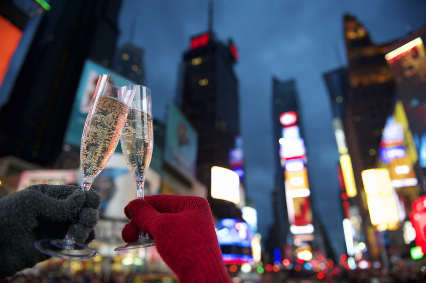 New York Silvester New Year